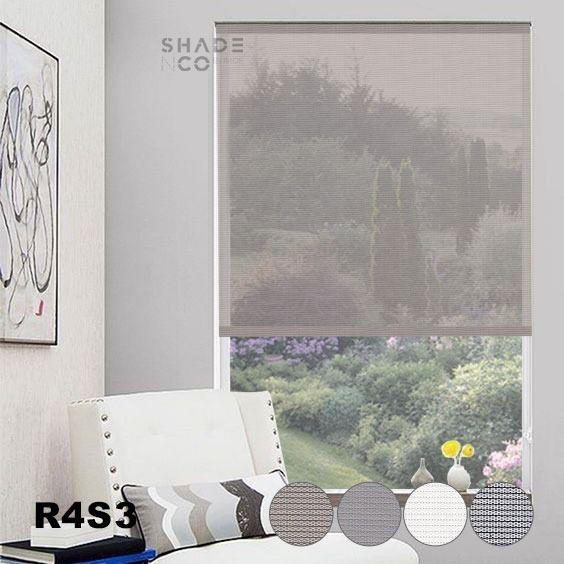 Roller Blinds Solar Screen 120cm x 185cm - R-4-S-3
