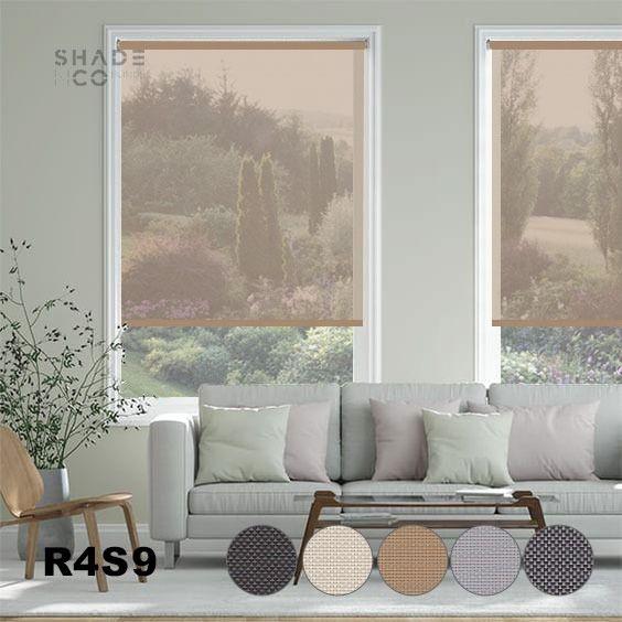 Roller Blinds Solar Screen 120cm x 185cm - R-4-S-9