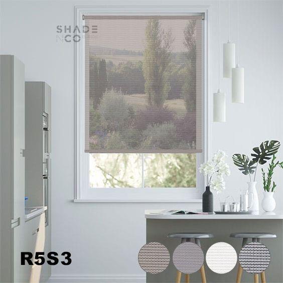 Roller Blinds Solar Screen 90cm x 185cm - R-5-S-3